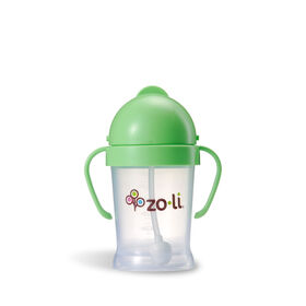Zoli - Bot 6oz Straw Sippy Cup - Green.