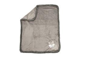 Koala Baby Ribbed Blanket Grey Fox