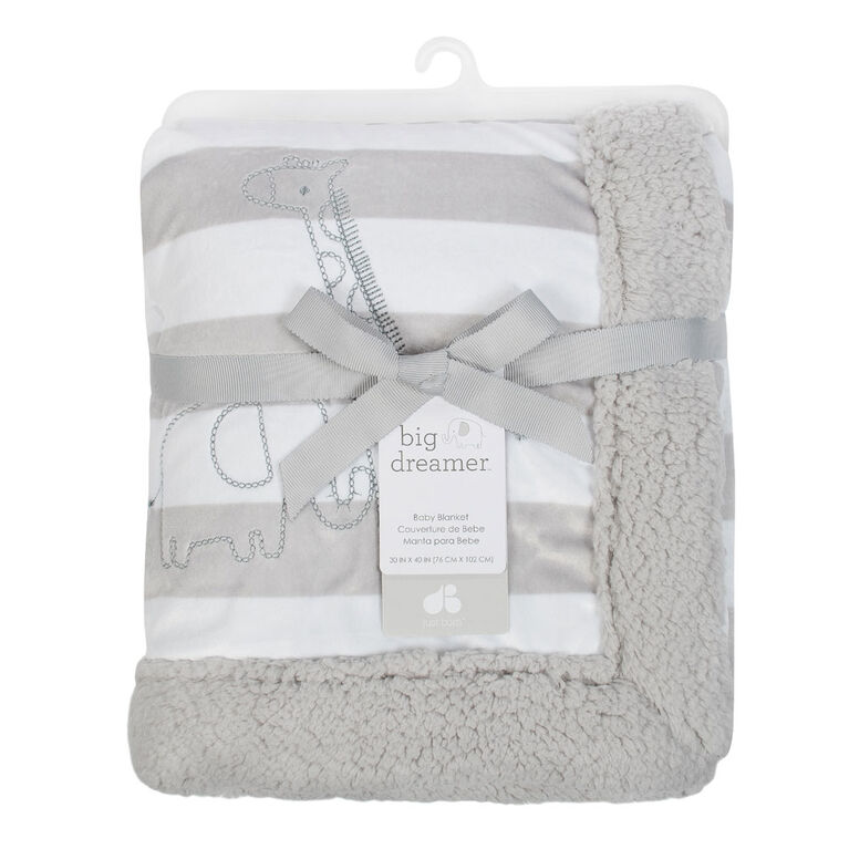 Just Born Big Dreamer Collection Plush Blanket