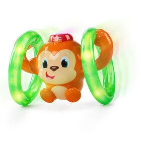Bright Starts - Lights, Lights Baby Roll & Glow Monkey