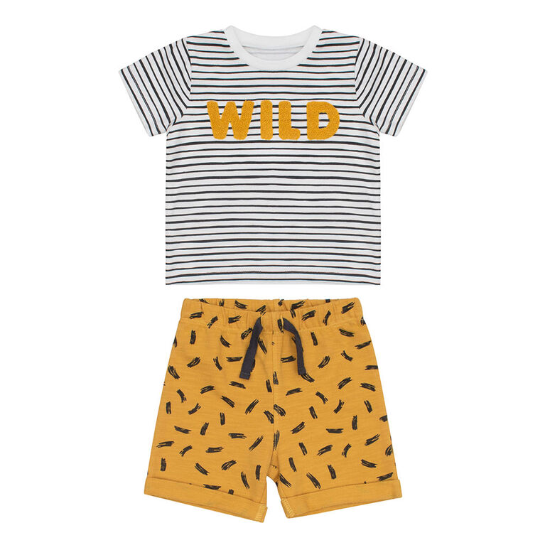 PL Baby Safari Day Care Set Off White 9M