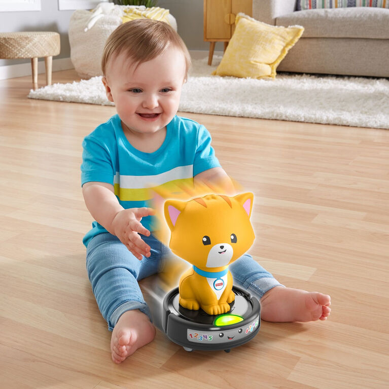 ​Fisher-Price Laugh & Learn Crawl-After Cat on a Vac