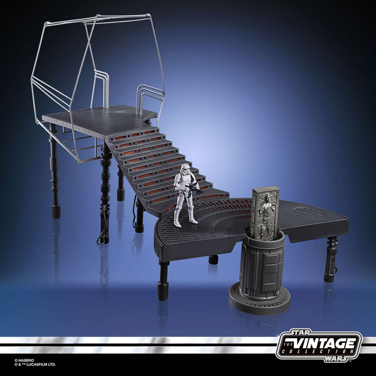 Star Wars The Vintage Collection - The Empire Strikes Back Carbon-Freezing Chamber Playset with Stormtrooper Action Figure