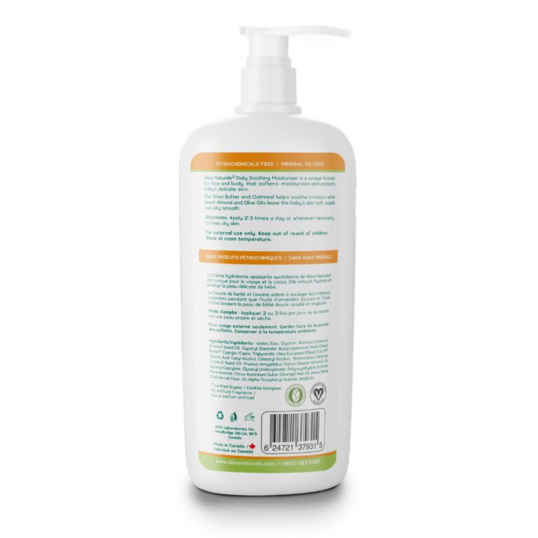 Aleva Naturals Daily Soothing Moisturizer 240ml