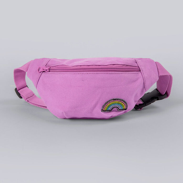 kidcare - Rainbow Fanny Pack - Lavender