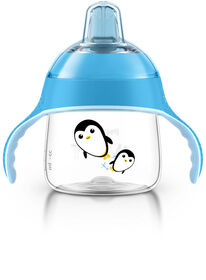 Philips AVENT - My Penguin Sippy Cup, 7oz, Blue