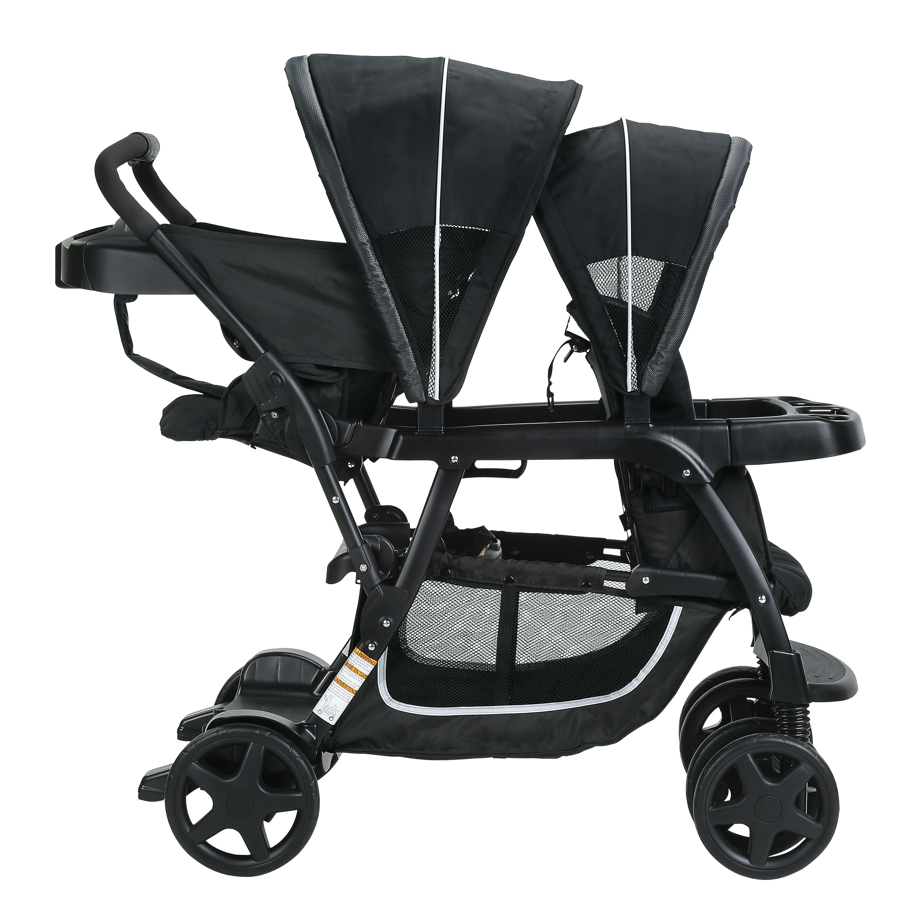 Poussette Graco Ready2Grow Click Connect Stand and Ride - Gotham