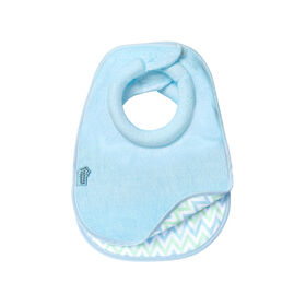 Tommee Tippee Closer to Nature Comfi-Neck Bib 2-Pack - Blue