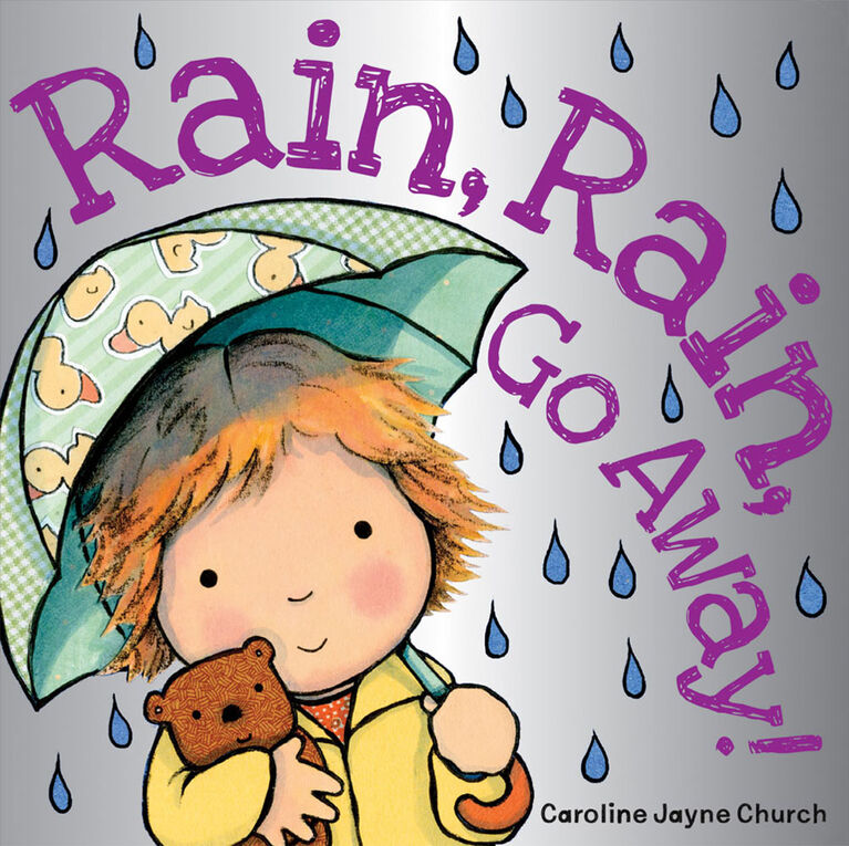 Scholastic - Rain Rain Go Away - English Edition