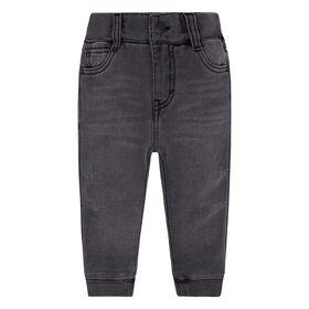 Levis Pantalon jogging denim en tricot - Gris, 24 Mois