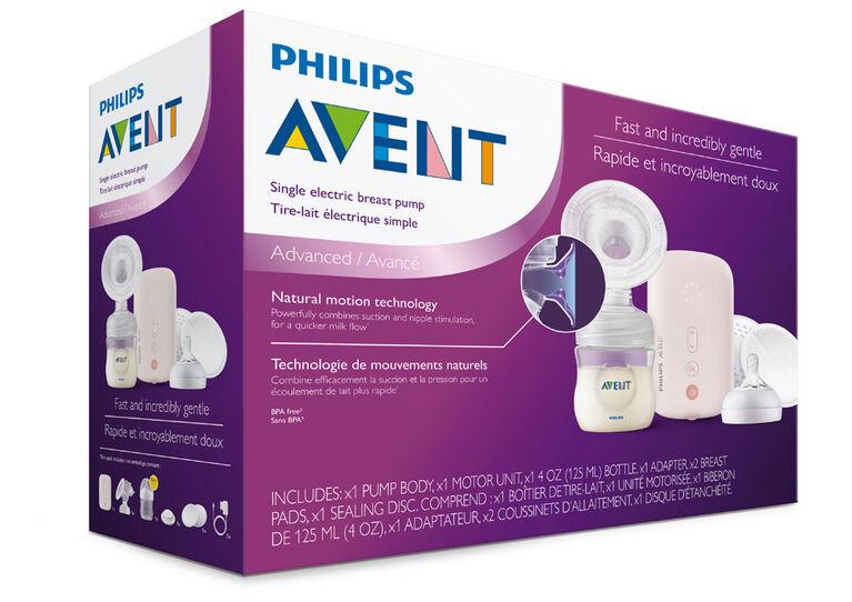 Tire-lait électrique simple Philips Avent, SCF391/71