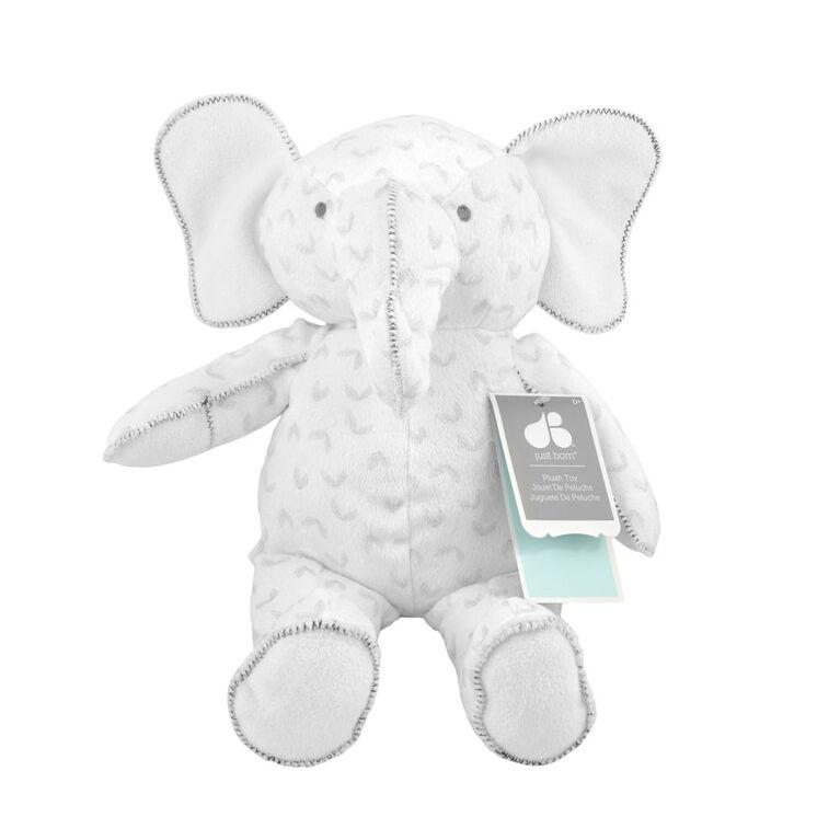L'éléphant peluche de Hattie & Ellie.