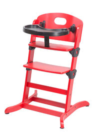 guzzie+ Guss Banquet Highchair - Red