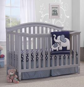 Sorelle - Berkley 4-In-1 Convertible Crib - Grey