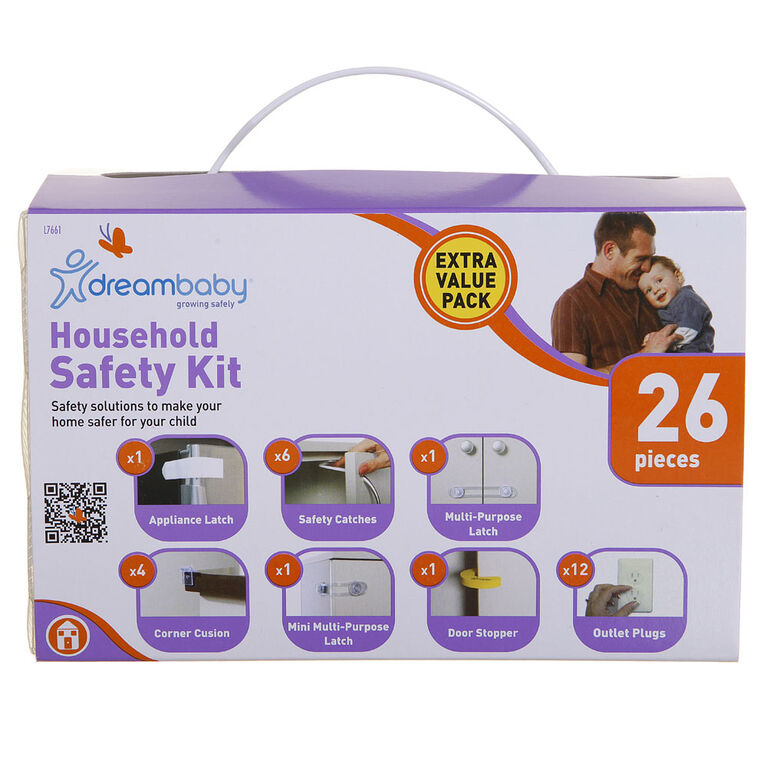 Dreambaby Household Safety Kit - 26pc