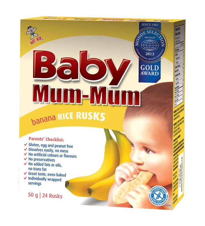 Baby Mum Mum - Banane.