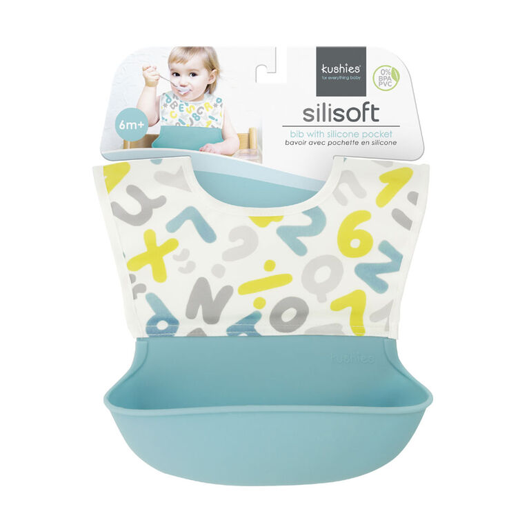Kushies Silisoft Bib - A-One
