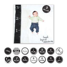 Lulujo - Baby's 1st Year Loved Beyond Measure Blanket & Cards Set