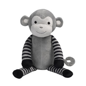 Bedtime Originals - Jungle Fun Plush Monkey - Bingo - Gray