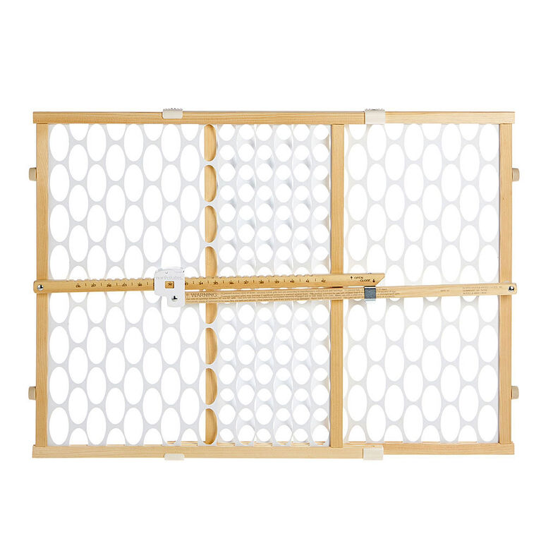Barriere a mailles ovales Quick-Fit de North States - naturel/blanc.