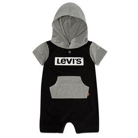 Levis Barboteuse - Noir, 6 mois.