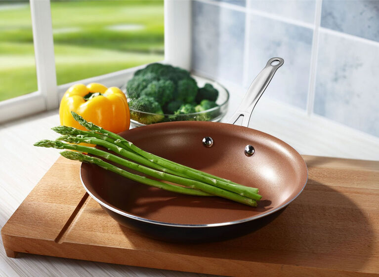 Brentwood 10 Induction Copper Non-Stick Frying Pan