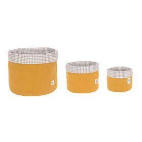 Storage Basket Set - Mustard