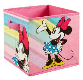 """9"""" Bac de rangement souple- Minnie Mouse"""