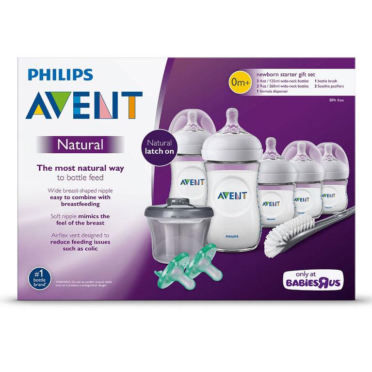Philips Avent Natural Baby Bottle Newborn Starter Set ...