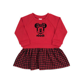 Disney Minnie Mouse Dress - Red, 6 Months