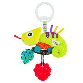 Le jouet Clip & Go de Lamaze Chroma le Caméléon