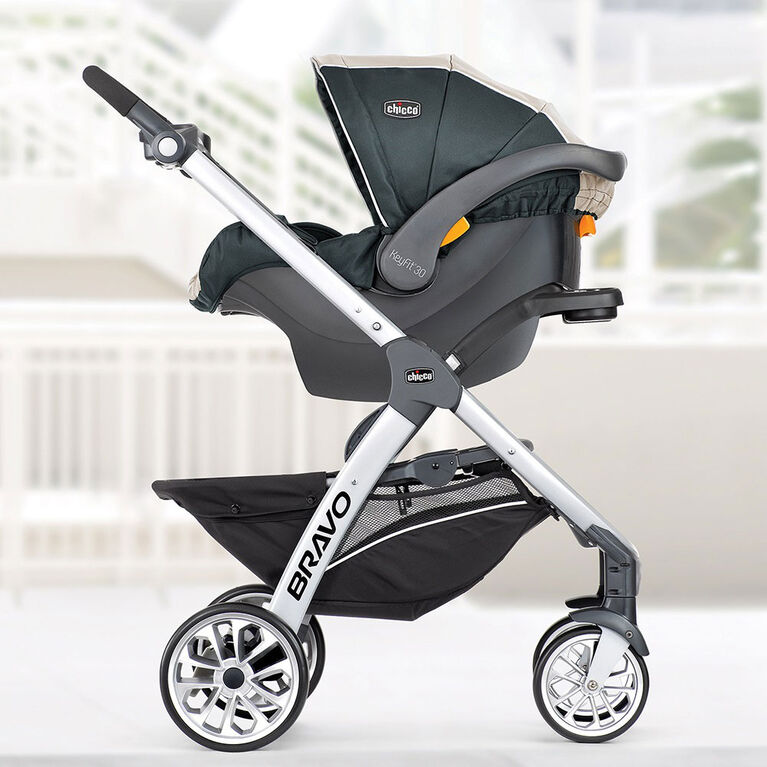 Chicco Bravo Trio System With Keyfit 30 Infant Car Seat