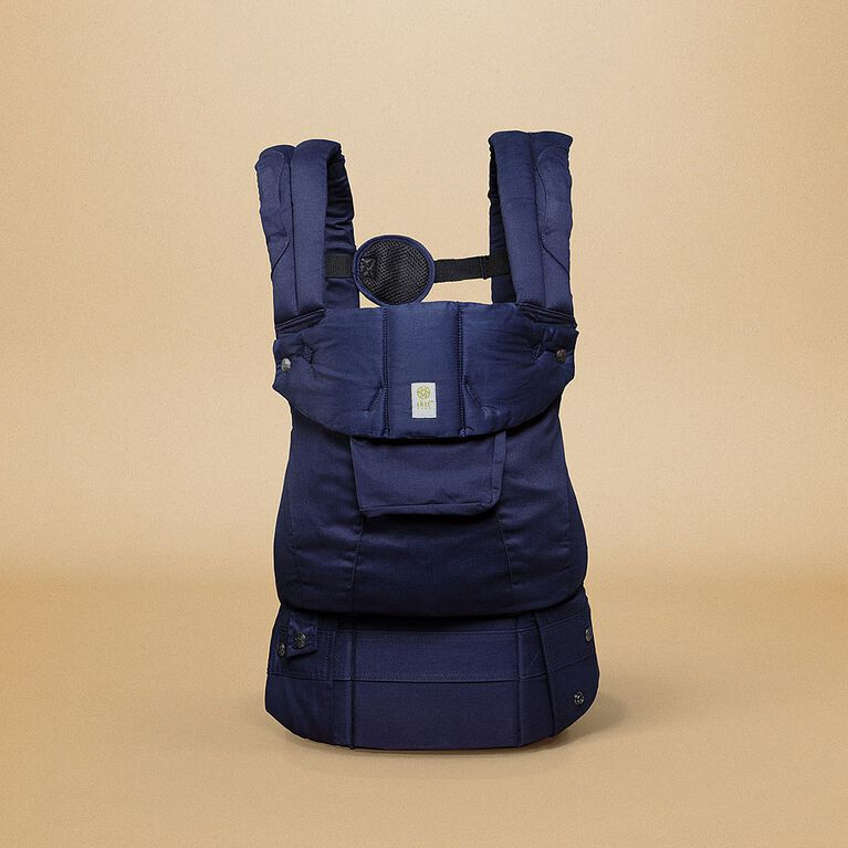 LILLEbaby Organi-Touch Carrier - Blue Moonlight