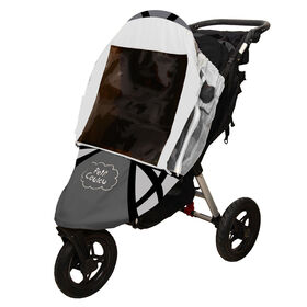 Petit Coulou 3 Seasons (4 in 1) Stroller Cover - Grey