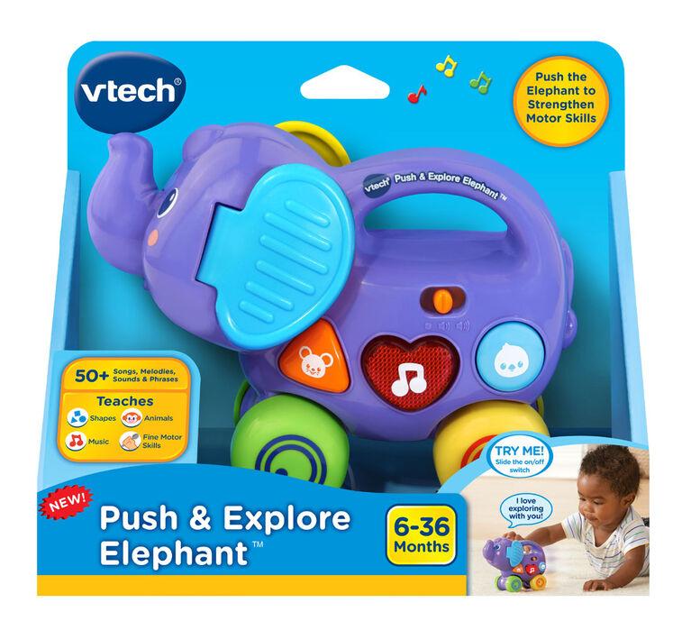 VTech Mon éléphant Pousse Pousse - Édition anglaise