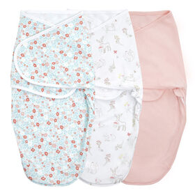 Aden + Anais Fairy Tale Flower 3 pack  Wrap Swaddle 0-3 mois