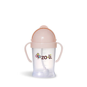Zoli - Bot 6oz Straw Sippy Cup - Blush.