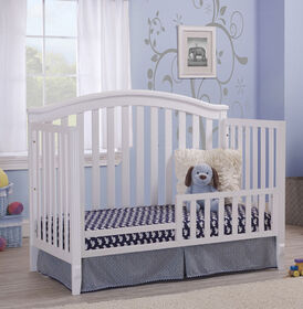Berkley + Fairview Toddler Rail - White||Berkley + Fairview Toddler Rail - White