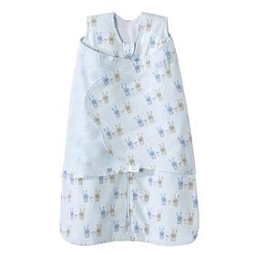 HALO SleepSack Swaddle - Cotton - Blue Bunnies - Newborn