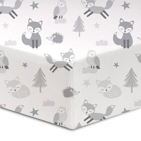 Koala Baby - Flannel 1 Pack Fox Island Crib Sheet