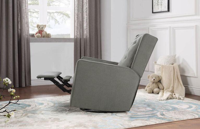 Lennox Furniture Capri Glider Recliner Swivel Gray