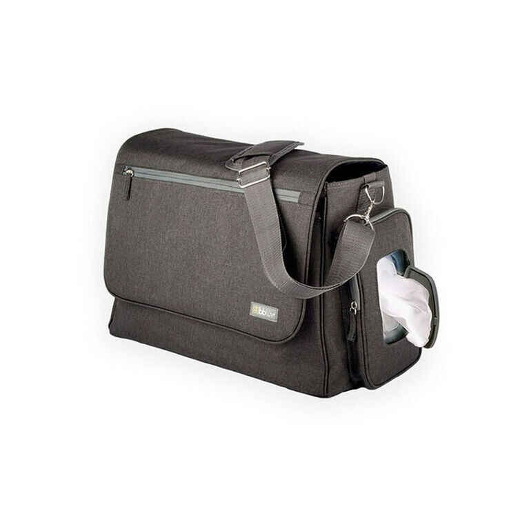 bblüv Ultra Diaper Bag - Charcoal