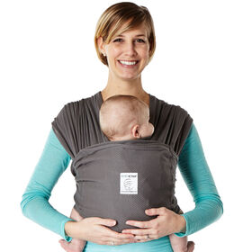 Porte-bébé Breeze de Baby K'Tan - Charbon petit.