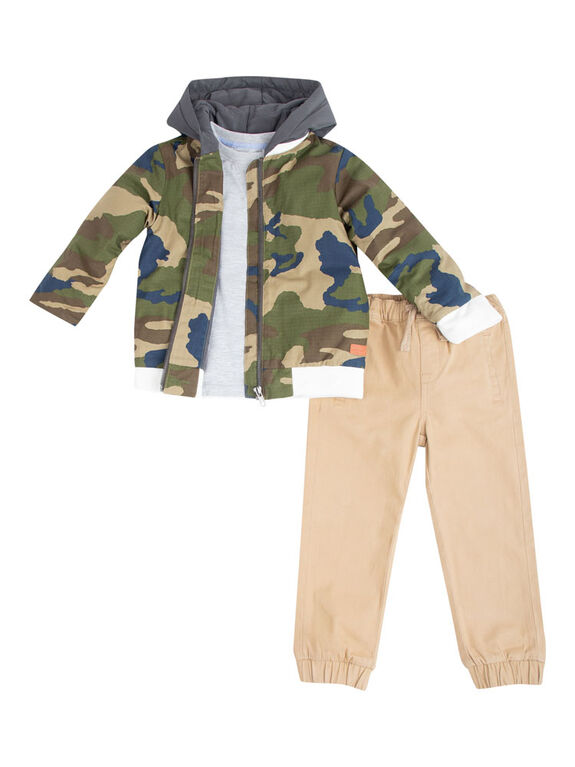 7 For All Mankind - 3Pc Denim Set - 18 Months - English Edition