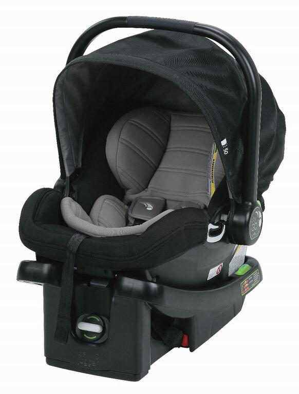 Le siège auto City GO de Baby Jogger - noir/gris.