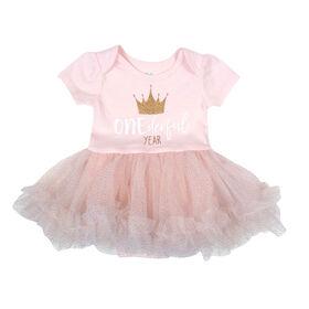 Rococo Tutu Dress - Pink, 12-18 Months