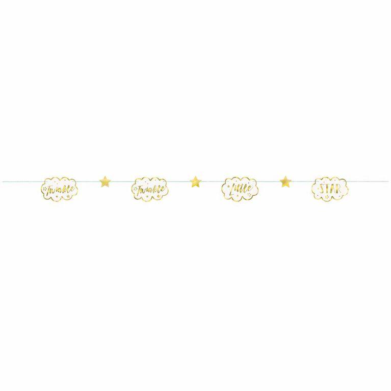 Guirlande En Papier 7Ft - Twinkle Twinkle Little Star - Édition anglaise
