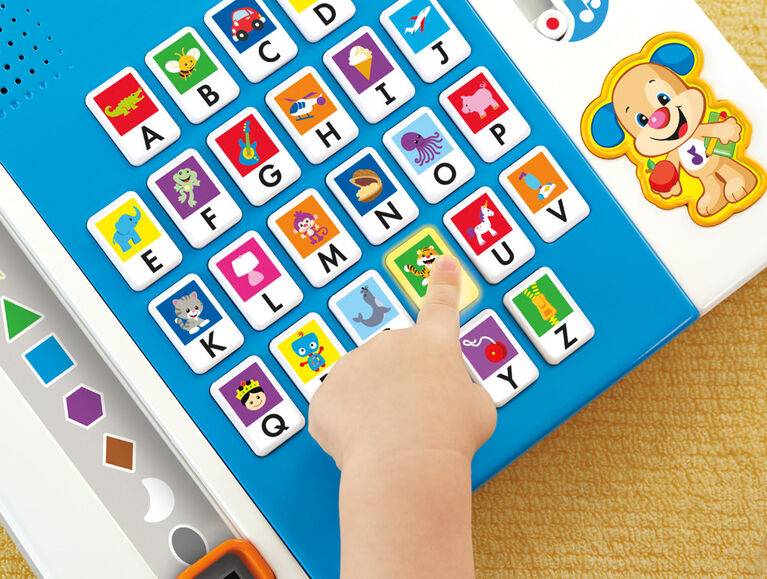 Fisher-Price Laugh & Learn Puppy's A to Z Smart Pad - English Edition