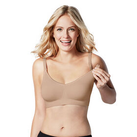 Bravado Designs Body Silk Seamless Nursing bra - Butterscotch, Large