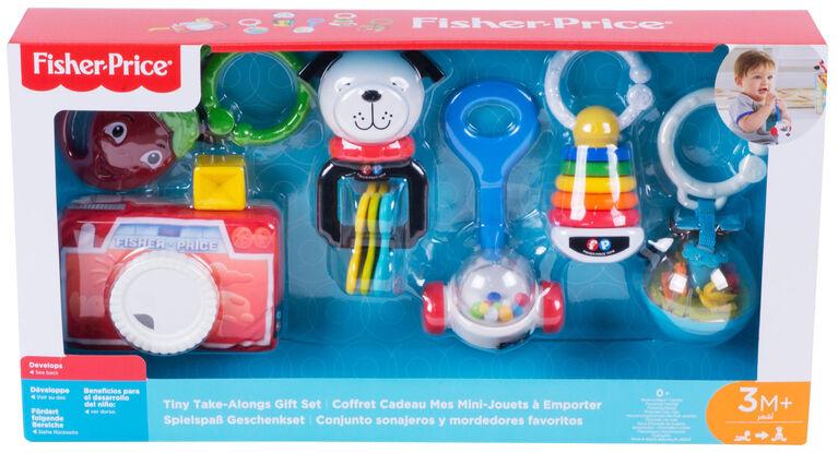 Fisher-Price Coffret Cadeaux Mes Mini-Jouets À Emporter